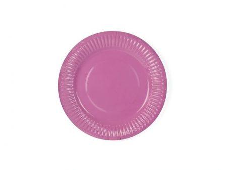Roosa taldrik
